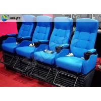 Best Customized 4D Cinema System , Dynamic Hydraulic Motion Movie Theater wholesale