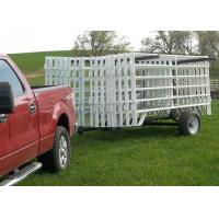 Buy cheap Green Pvc coated 38MM OUT Frame Pipe With 6 Rail Horse Fence Yard Panel from wholesalers