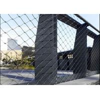 Buy cheap Bridge Stainless Steel Cable Mesh, 7X7 Stainless Steel Rope Mesh fence from wholesalers