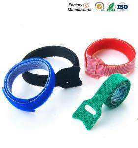 Best Small Hook And Loop Cable Ties Down Straps , Self Adhesive Hook And Loop Closure wholesale