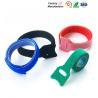 Small Hook And Loop Cable Ties Down Straps , Self Adhesive Hook And Loop Closure