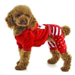 China Christmas clothes for dog fleece dog apparel on sale