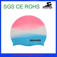 Cheap Mix Color Adult Style Swimming Cap for 2014 Winter Swimming for sale