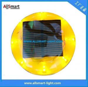 CE IP68 ASD-011 Plastic Solar Road Stud/LED Cat Eyes Traffic Cone Light