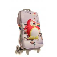 Best Recyclable Kids Hard Shell Rolling Luggage / Wheeled Backpack Luggage wholesale