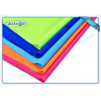 Best Orange Blue Red Flame Retardant Nonwovens PP Spunbond Non Woven Fabric for Furnitures wholesale