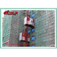 Cheap Energy Saving Vertical Rack And Pinion Hoist 2T Capacity For Construction for sale