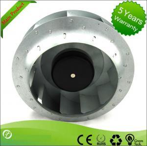 Best 1955rpm Speed Telecom EC Centrifugal Fans 250mm Air Purification wholesale