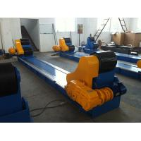 Self Aligning Welding Rotator  Pipe Rollers Heavy Duty , Bolt Adjustment Pipe Wheels Rollers