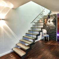 Cheap Commercial Metal Stairs / Build Marble Stair / Internal Staircase for sale