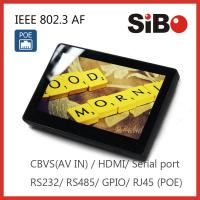 Best Flush Mount Android POE Touch Tablet With Camera Speaker Microphone wholesale