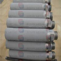 China high filtration Gr1 Gr2  Sintered Titanium Water Filter Cartridge on sale