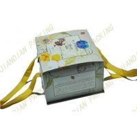Best Personalized Card Paper Gift Boxes For Cake Pizza Food Packaging With Handles wholesale