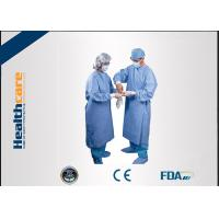 Buy cheap Water Resistant Disposable Surgical Gowns Hospital Protective Clothing SMS Standard from wholesalers