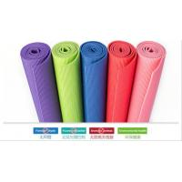 Best Custom logo print 100% eco pvc free yoga mat with carry strap yoga mat for exercises wholesale