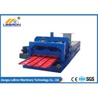 Best High Performance Color Steel Tile Roll Forming Machine 10-16m/min Stable Transmission wholesale