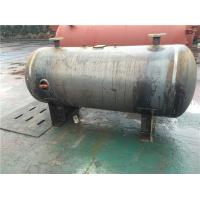 Best Horizontal Stainless Steel Air Receiver Tanks For Machinery Manufacturing / Textile Industry wholesale