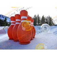 Best 3.6m Big Inflatable Sport Balloons , UV Protected Printing Outdoor Inflatable Bowling wholesale