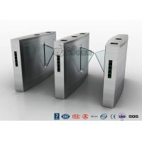 Best Retractable Flap Barrier Turnstile Durable Anti Pinch Function Time Attendance System wholesale