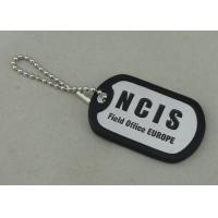 Best NCIS Personalised Dog Tags By Aluminum Stamped , Silicone band Matched wholesale