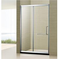 China Custom Made bathroom simple shower door Two sided Movable Doors Sliding Shower Cubicle on sale