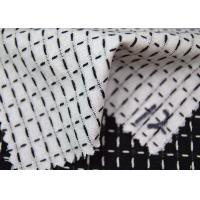 Best Grid Style Jacquard Material Pure Cotton Classical Black And White Color wholesale