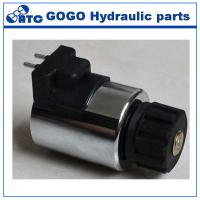 Quality DC Power Hydraulic Servo Electromagnetic Coil 12v With Medium Temperature , MFZ12A-37YC wholesale