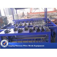 Best Hot Dipped Galvanized Wire Grassland Fence Machine Blue Color Easy Operation wholesale