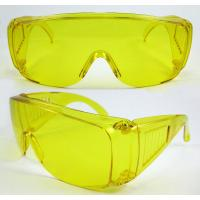 Best Yellow Polycarbonate Lens Plastic frame Eye Protection Glasses for Night driving and pilot wholesale