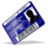 13.56mhz 1k Smart RFID Card 0.86mm With Thickness Hologram Background