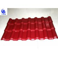 Best 3 Layers Heat Insulation Color Stable Pvc Resin Roof Tile Strong Capacity 100kg wholesale