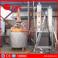 Best White Spirit Distillation And Alcohol Distillers Electric Hearting Or Steam Hearting wholesale