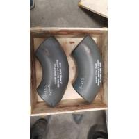 China Seamless Butt Weld Symbol Elbow 90° 33.7*2.6 EN10253-2/P265GH Black Painting on sale