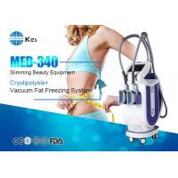 Best 2 Handpieces Cryolipolysis Fat Freeze Slimming Machine For Double Chin Removal wholesale