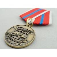 Quality Souvenir Gift Zinc Alloy 3D Custom Medal Awards with Ribbon Two Sides Die Casting wholesale