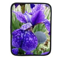 Best Purple Iris ipad case, flower ipad sleeve, neoprene ipad sleeve wholesale