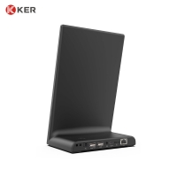 Best WL1032T L-type Android Tablet Desktop Feedback Kiosk All In One PC For Restaurant Food Survey wholesale