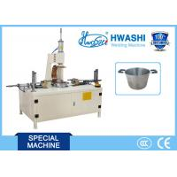 China Stainless Steel Welding Machine , Soup Pot Double Handle Projection Welding Machine on sale
