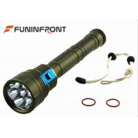 Best 9000LMs  Diving LED CREE Torch, Waterproof Underwater Scuba Diving Lights wholesale