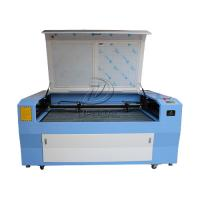Cheap Dual Heads Cloth Fabric Leather Co2 Laser Cutter Engraver 1600*1000mm for sale