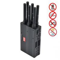 Best 6 Antenna High Power Portable Cell Phone Signal Jammer Blocking GSM 3G 4G LTE WIMAX GPS wholesale
