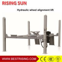 Best Car Wheel alignment used four post car lift for service station wholesale