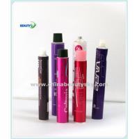 Quality Cosmetict Packaging Tubes Empty Aluminum Tubes for Hair Dying Cream tube Body care tube with Goden Internal Coating wholesale