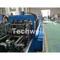 Best Blue Cable Tray Roll Forming Machine  With Punch Machine & Hydraulic Pre - Cutting Device wholesale