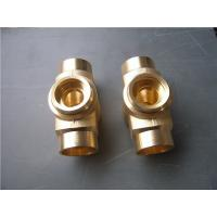Quality Lost wax investment casting process copper tube joint normal polish wholesale