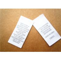 Best Heat cut Clothing Label Tags woven for back neck label with customized logo wholesale