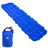Best 1 Person 8.8lbs 20D Nylon Inflatable Camping Mat wholesale