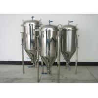 Best 100L Top Manhole Home Conical Beer Fermenter With Full Fittings wholesale