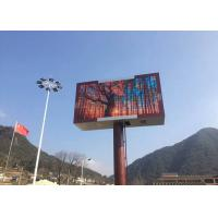 Cheap High Resolution 2 Sided Led Outdoor Signs Display P4.81 , 2 Year Warranty for sale