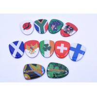 Clear Domed Resin Badges Pin For Golf Clubs Rustless Metal Cusomized
